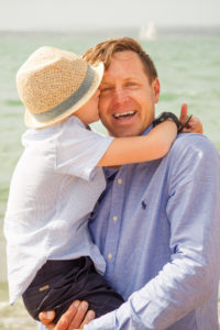Dad and son photoshoot Portsmouth Hampshire